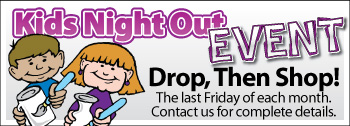 Kids Night Out - Drop Then Shop